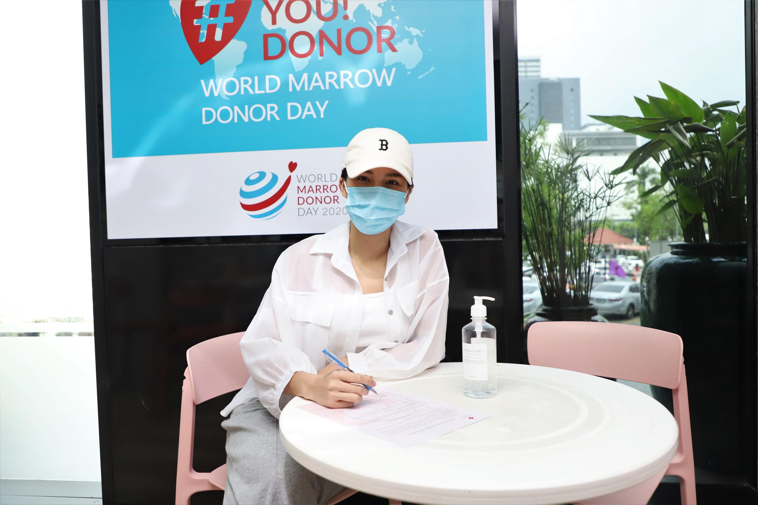 """""""จันจิ"""" ขอเข้าร่วมปฏิบัติการตามหาคู่แท้สเต็มเซลล์ เพื่อชีวิตใหม่ของผู้ป่วยโรคเลือด"""